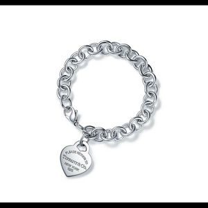 Return to Tiffany silver bracelet